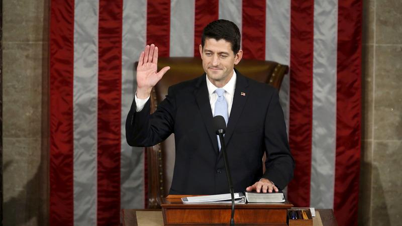 Ryan to fill three buckets as Speaker