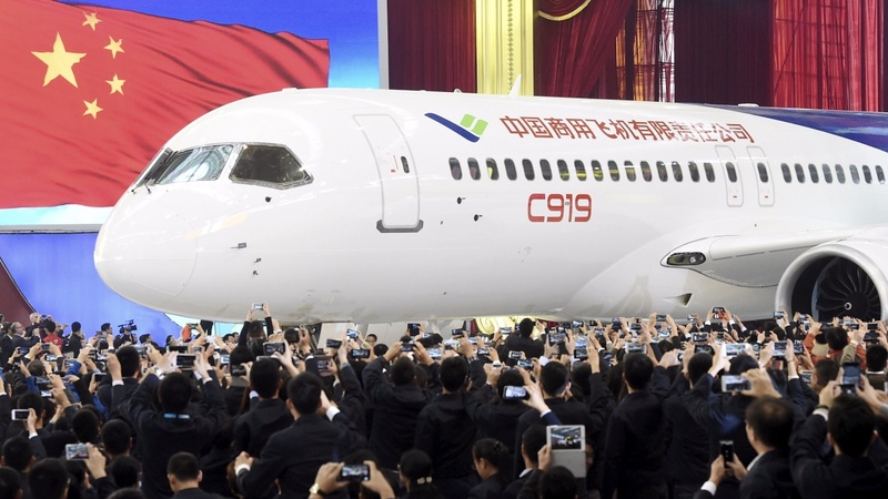 China's answer to Boeing and Airbus arrives