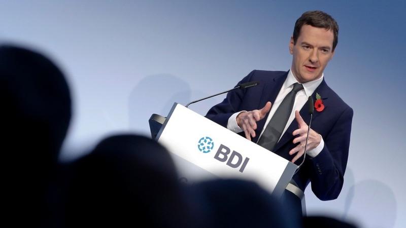 VERBATIM: Osborne sets out EU demands