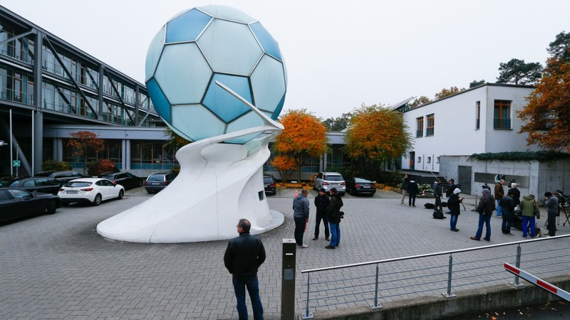 Police raid German football association