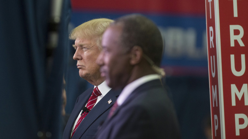 Trump attacks Carson after latest poll