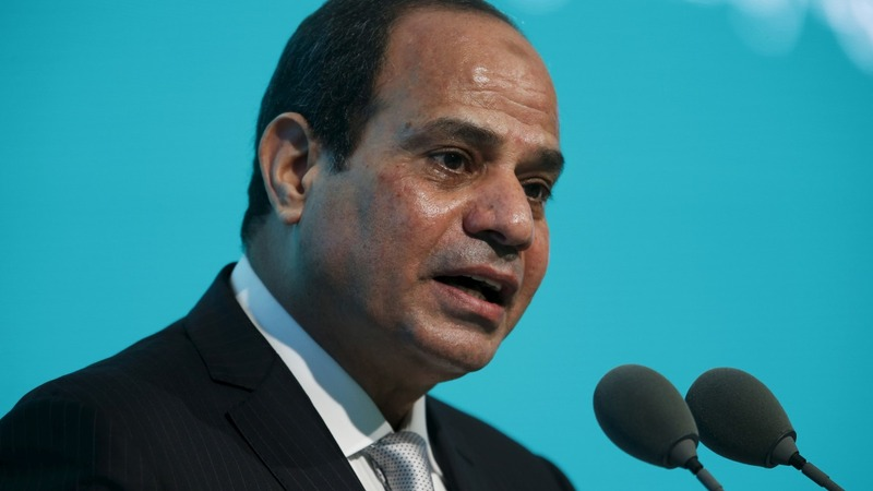Protests to greet Egypt president in UK