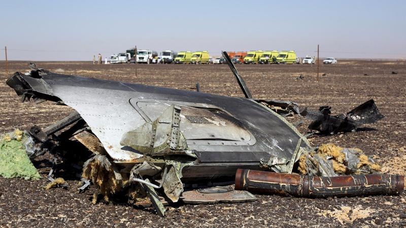 Intel suggests ISIS bomb downed Russian plane