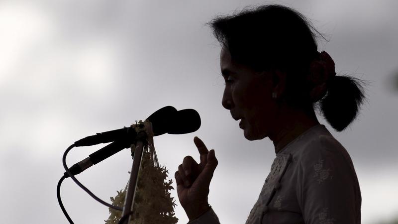 VERBATIM: Suu Kyi says she can run Myanmar