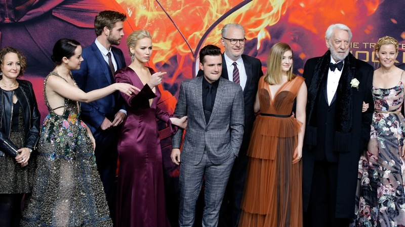 Stars salute final 'Hunger Games' film
