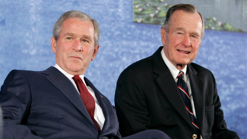 Bush Sr. bashes Cheney, Rumsfeld