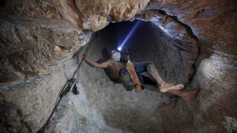 Egypt tunnel flooding drowns Gaza business