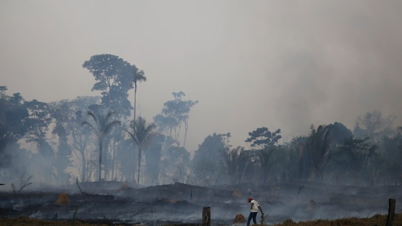 IN PICTURES: Amazon settlers impact climate