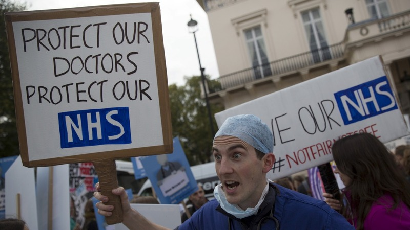 A 'life or death' NHS becomes possible