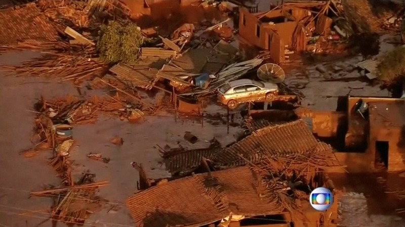 Deadly dam collapse in Brazil