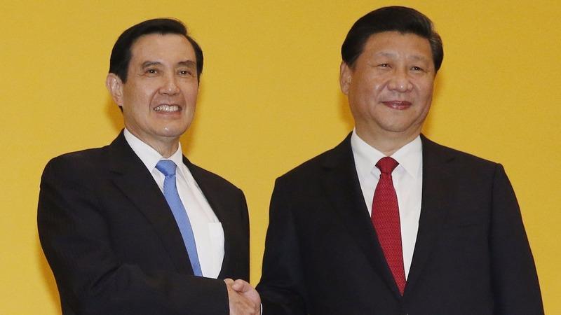 China, Taiwan leaders hold historic meeting