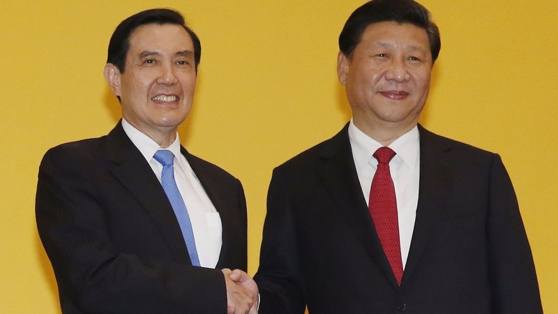 China, Taiwan leaders in historic meeting
