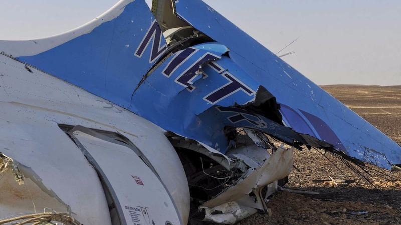 Noise heard on Egypt crash jet's black box