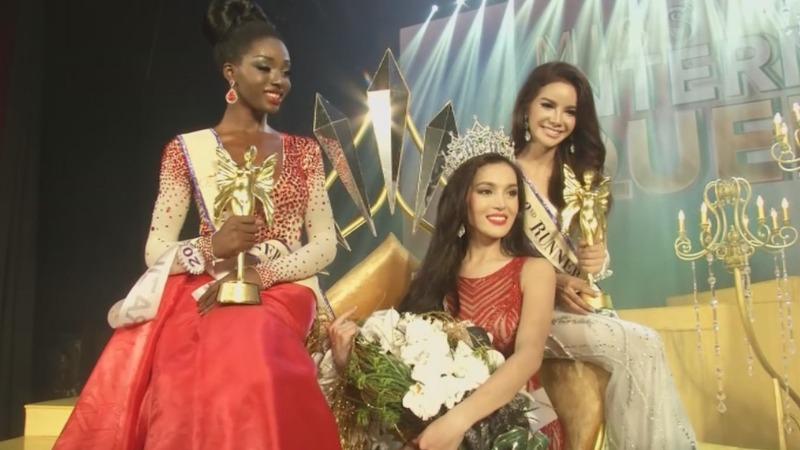 Filipina wins world's largest transgender pageant