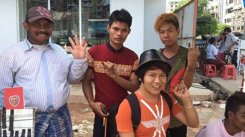 Purple pinkie power at Myanmar's polls