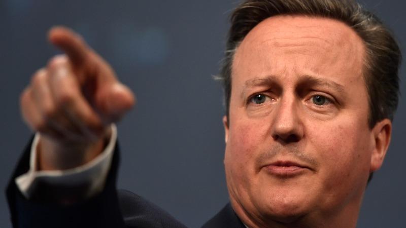 VERBATIM: Cameron bats off anti-EU hecklers