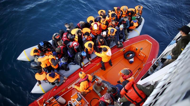 EU ministers debate refugee relocation