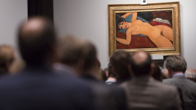 Hot art market: nude sells for $170.4 mln