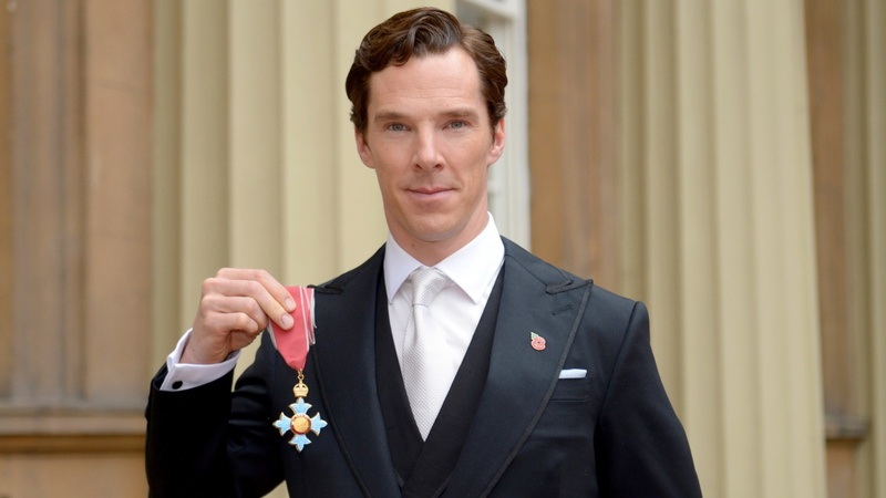 VERBATIM: Benedict Cumberbatch receives CBE