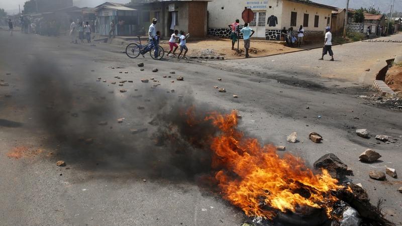 Burundi struggles to control violence
