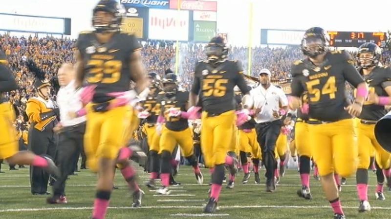 Missouri football team gets back to work
