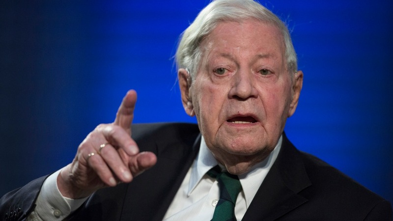 Former German Chancellor Schmidt dead at 96