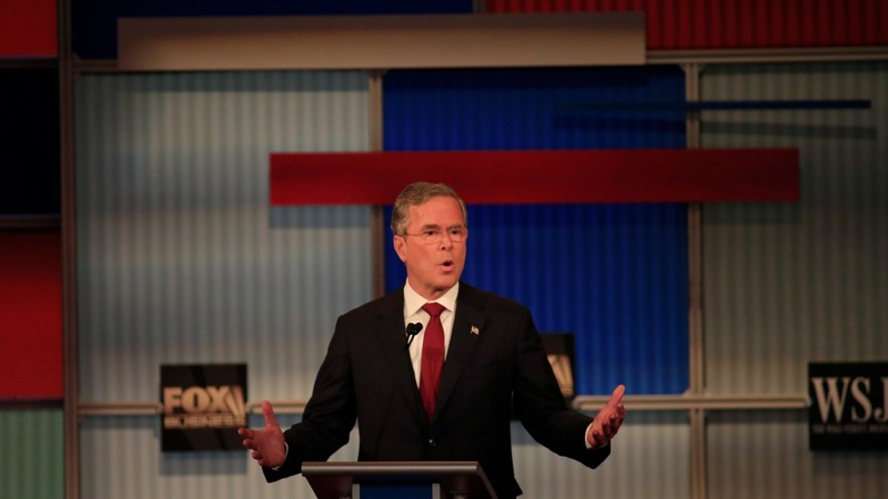 Jeb Bush steps back from the brink