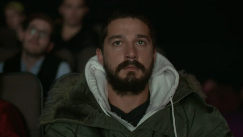 Watch Shia LaBeouf watch his films