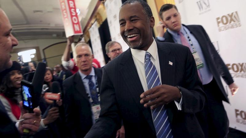 Carson touts un-Trump immigration plan