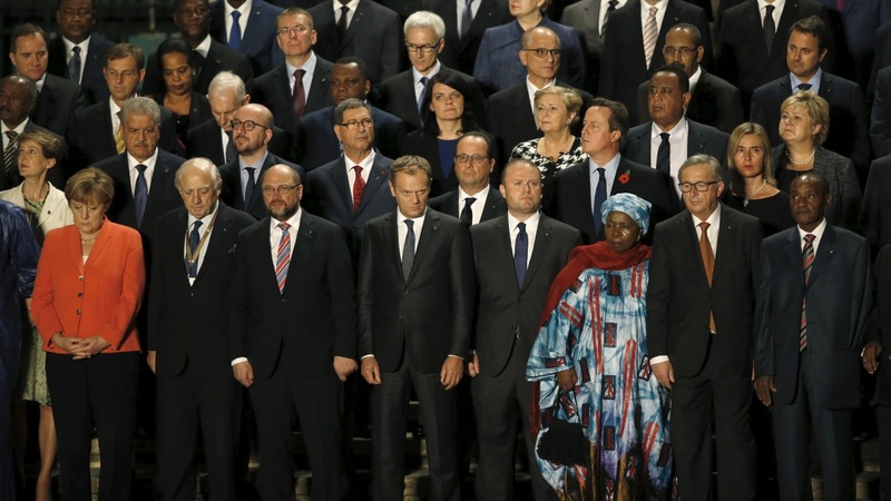 Migrant summit: Aid for Africa, chaos at home