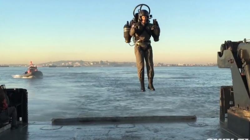 Jetpack makes debut flight in New York