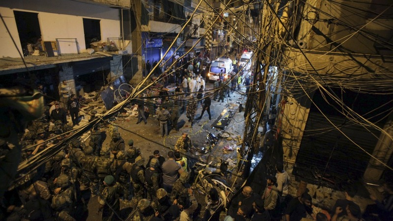 At least 43 dead in Beirut blasts