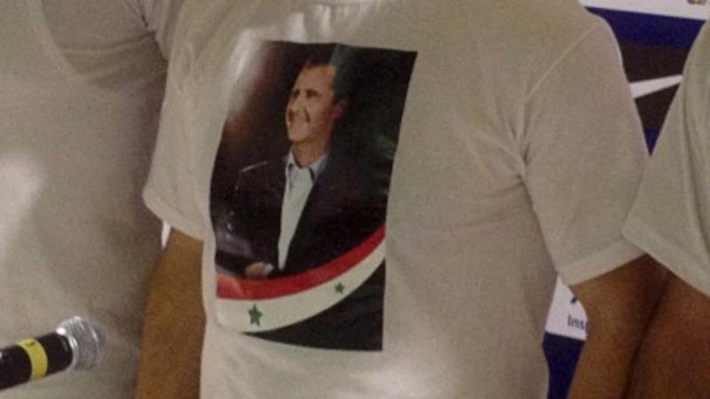 VERBATIM: Defiant soccer coach defends Assad