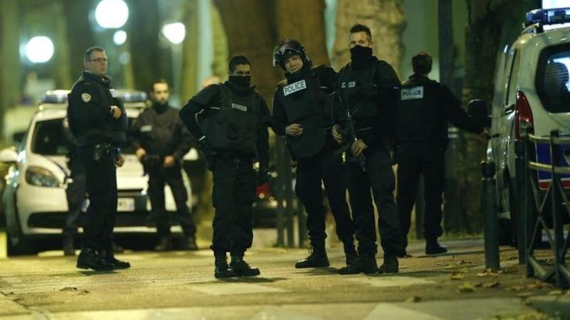 Gunfight erupts during Paris terror raid