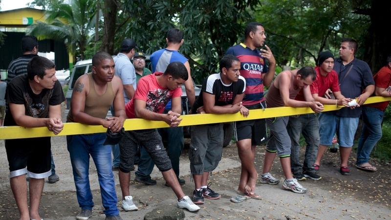Nicaragua clamps down on Cuban migrants