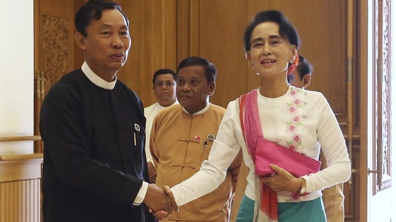 Reconciliation talks begin in Myanmar