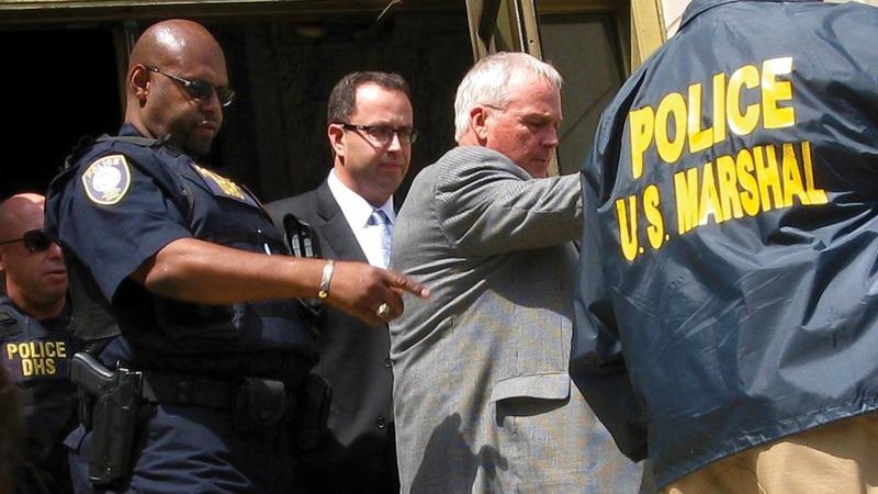 Ex-Subway spokesman gets harsh sentence