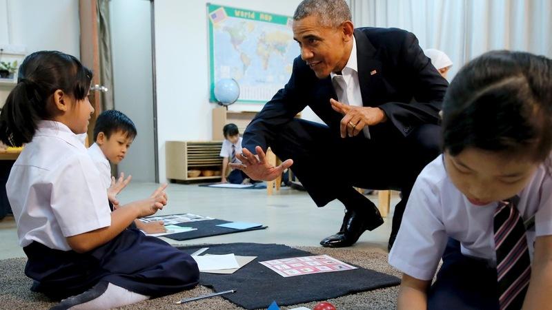 VERBATIM: Obama says refugee children 'just like our kids'