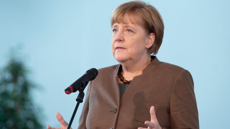 Merkel marks decade in Germany's top job