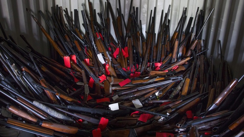 South Carolina's mysterious gun arsenal