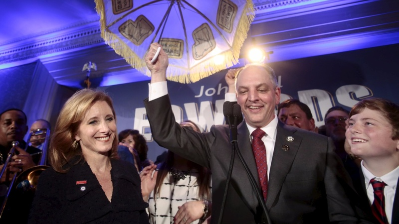 Democrat wins Louisiana governor's seat