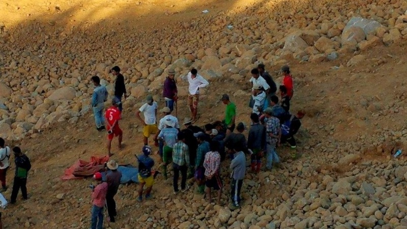 Death toll climbs after Myanmar landslide