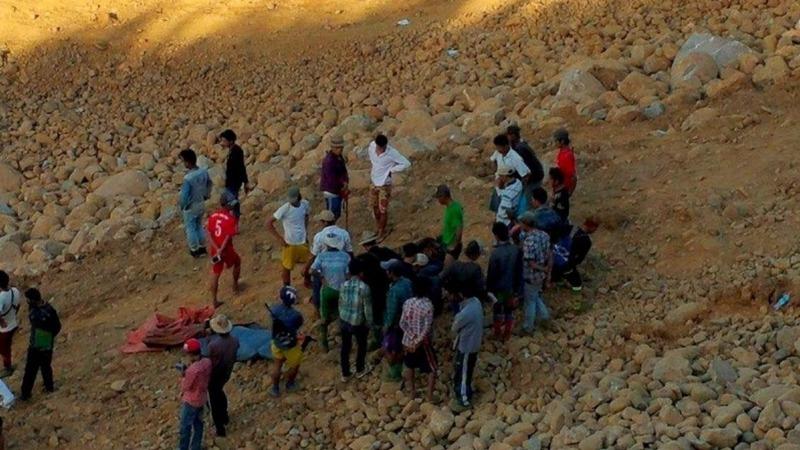 Death toll climbs after Myanmar landslide