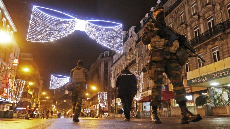 Sixteen arrested in Belgium anti-terror raids