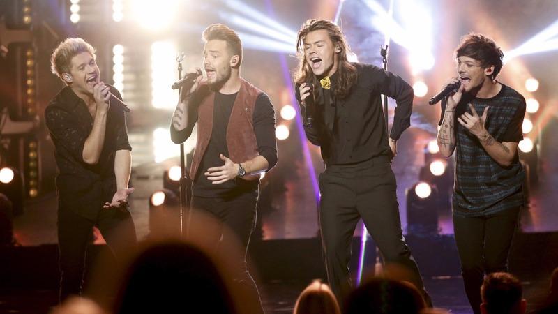 VERBATIM: One Direction wins big at AMA