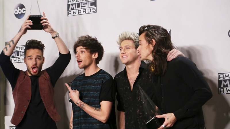 American Music Awards head in One Direction