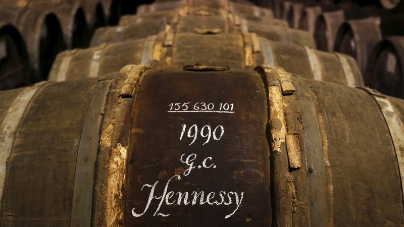 Cognac makers head West as China sips less