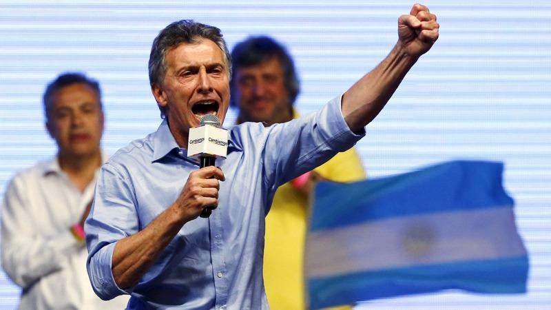 Macri wins Argentina elections