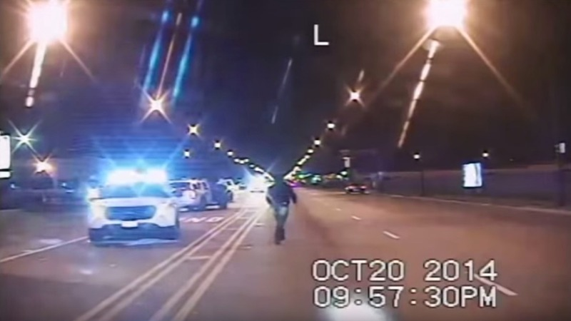 Video shows white cop quickly shooting black teen