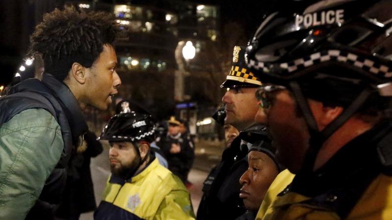 Protests erupt in Chicago after violent video